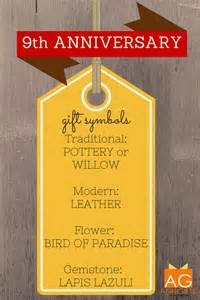 wedding anniversary gift ideas best 25 9th wedding anniversary ideas on wedding anniversary gift list best