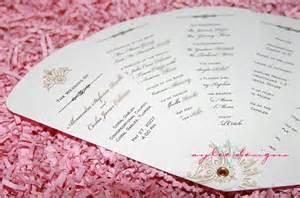 diy wedding programs fans wedding program template 41 free word pdf psd