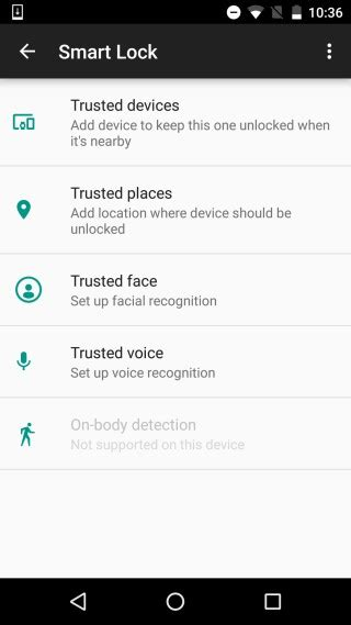android smart lock how to unlock your android phone just by looking at it