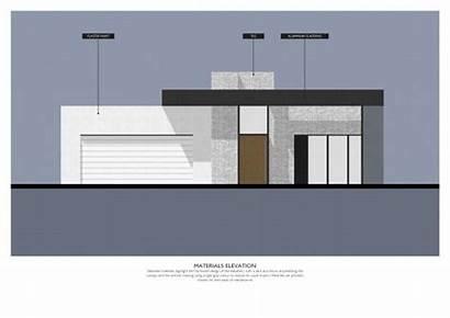 Facade Single Residential Australian Homes Materials Arcbazar