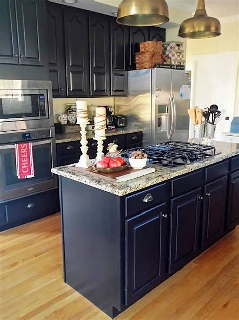 lamp black kitchen cabinets general finishes design center