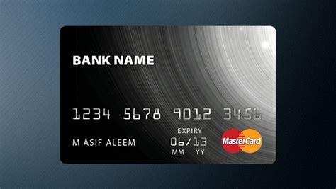 credit card designs  psd ai