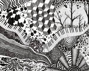 Black And White Designs Patterns