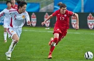 Adriana Leon scores as Canada's women's soccer team beats ...