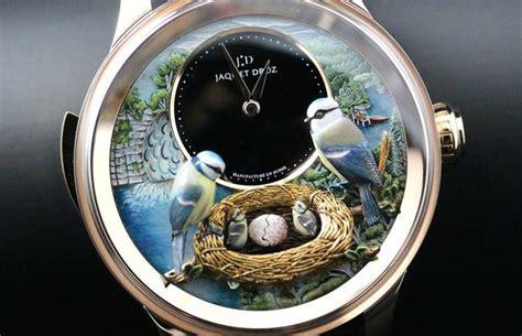 jaquet droz bird repeater automaton  ablogtowatch