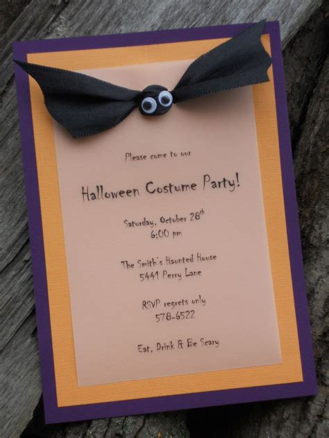 easy homemade invitations for fall Bing Images
