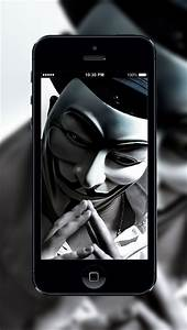 HD Wallpaper Anonymous Hacker App Download - Android APK