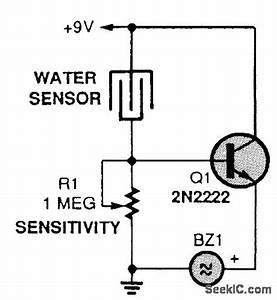 Soil Moisture Monitor - Power Supply Circuit