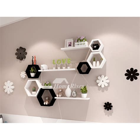Decorative Wall Shelves For Living Room by In Wall Shelves Decorative Bedroom Storage Living Room