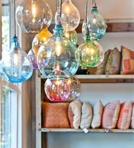 glass pendant lights for kitchen island beautiful blown glass pendant lights
