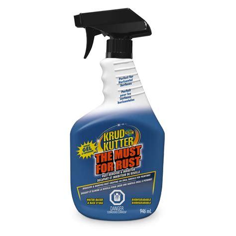 rust remover gel krud kutter must lime calcium zep upc depot canada homedepot 946ml