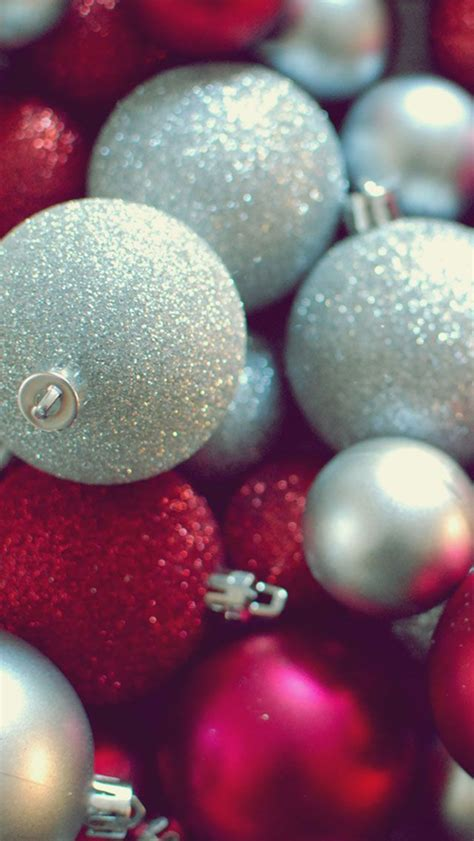Christmas Ornaments Iphone 5 Wallpaper (640x1136