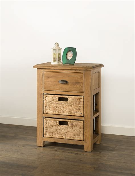 console table with baskets and drawers hartford small console table with baskets 60 03 papaya