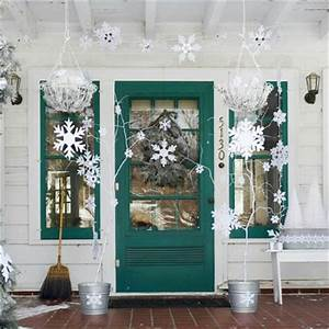 Front Porch Decorating Ideas for Christmas e Hundred