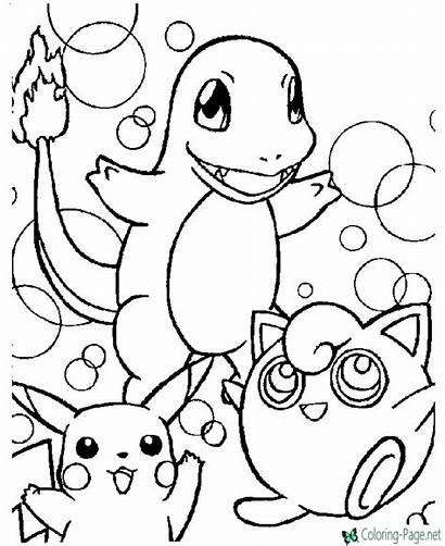 Pokemon Coloring Printable Below