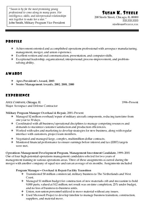 executive officer sle resume customer service