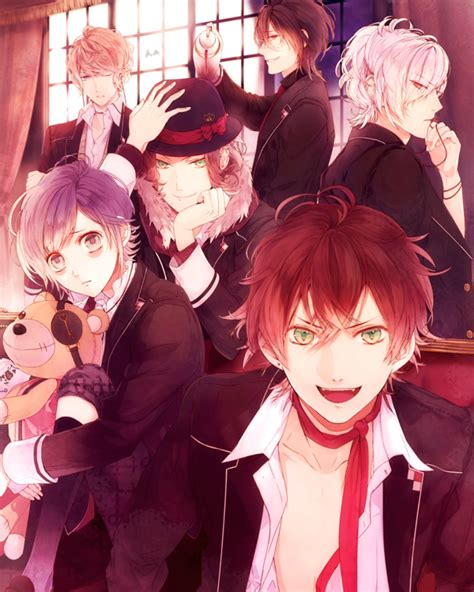 tentang anime diabolik lovers otome games diabolik lovers will be adapted to anime