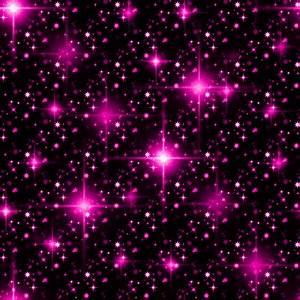 Glitter Stars Background Pink Seamless Background