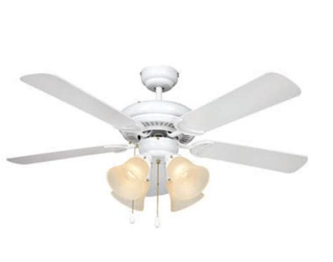 turn   century minerva  white ceiling fan