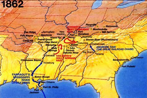 location bureau orleans civil war caign area and battle maps