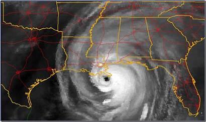 Katrina Clouds Water Goes Vapor Landfall Imagery