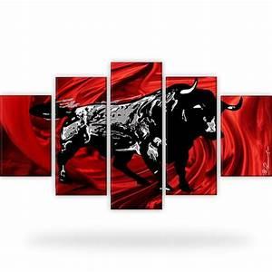 Stier Bilder Auf Leinwand : corrida stier bild auf leinwand 5 bilder in xxl canvas ~ Whattoseeinmadrid.com Haus und Dekorationen