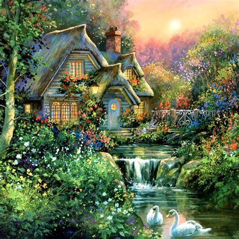 cottage charm jim mitchell landscape paradise