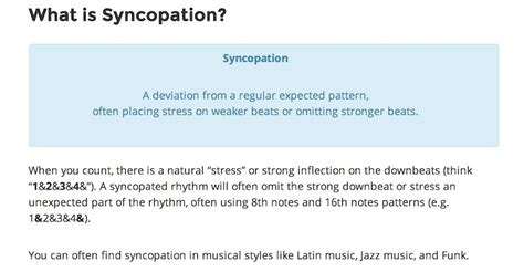 Syncopation is a word you've probably heard a lot when talking about rhythm. What-is-syncopation.jpg