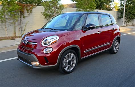 Review Fiat 500l by 2015 Fiat 500l Trekking Review Test Drive