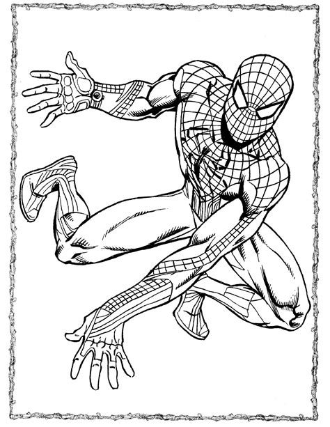 Spider Man 2099 Coloring Pages