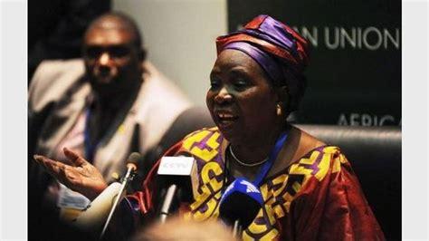si e union africaine une femme est élue présidente de la commission de l 39 union