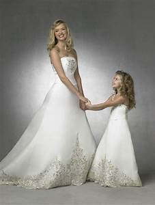 love the matching mom and daughter dresses i was thinking With matching mother daughter wedding dresses