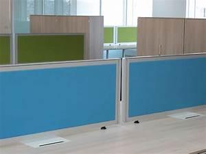 Cloison Acoustique Bureau : cloison amovible de bureau cloison vitr e de bureau ~ Premium-room.com Idées de Décoration