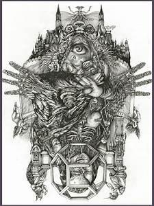 DZO Olivier, art, illustration in 2019 | Occult art ...