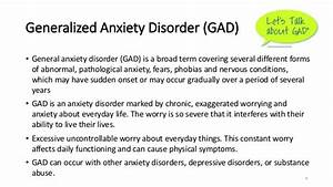 Generalized Anxiety Disorder Gad Symptoms Treatment And ...