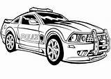 Police Coloring Printable Everfreecoloring sketch template