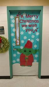 Star, Wars, Yoda, Christmas, Door, 2