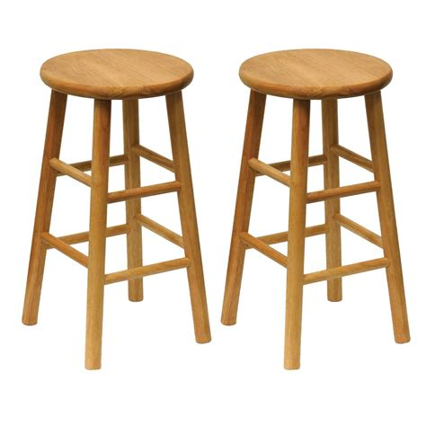 winsome wood wood   counter stools set