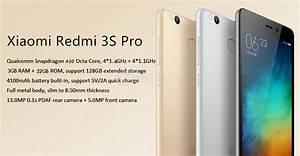 Xiaomi Redmi 3 Pro 5 0inch Hd 4g Lte 3gb 32gb Smartphone