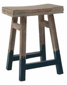 Blau Grau Farbe : hocker beistelltisch aus holz massiv farbe blau grau braun sitzh he 54 cm kaufen bei ~ Eleganceandgraceweddings.com Haus und Dekorationen