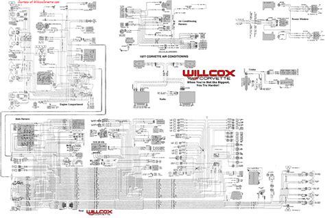 Interior Light Wiring Diagram For 1993 Corvette by 1977 Corvette Tracer Wiring Diagram Tracer Schematic