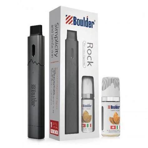 boulder rock starter kit refillable pod vaporizer