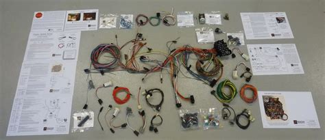 73 79 ford truck american auto wire complete rewire kit broncograveyard
