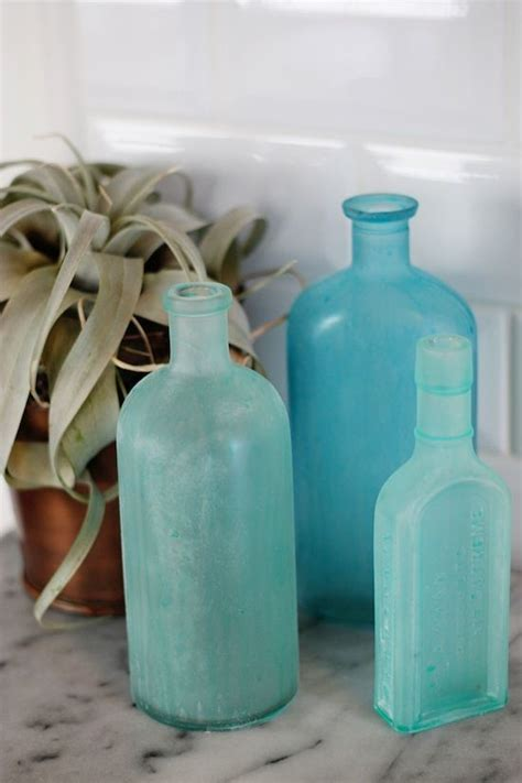 diy sea glass bottles contributors column oude flessen