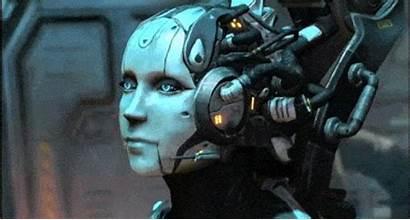 Cyborg Animated Robots Starcraft Cyborgs Robot Gifs