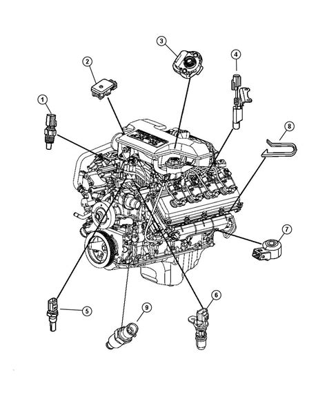 Hemi Wiring Diagram by 2004 Ram 5 7 Engine Diagram Downloaddescargar
