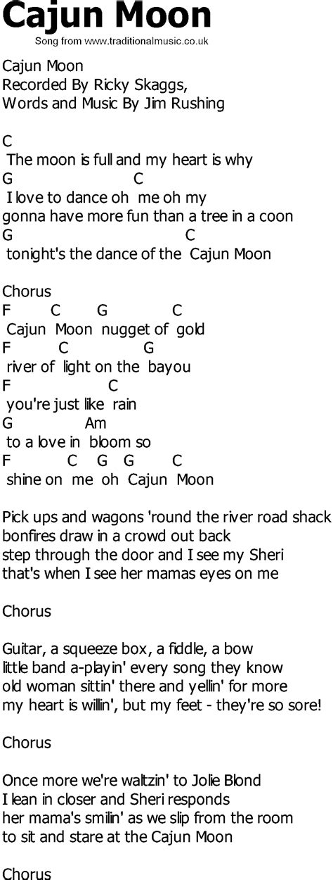 Country Music Guitar Chords