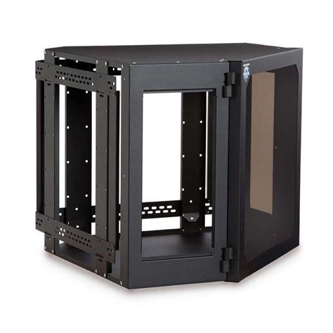 home server rack cabinet kendall howard 1915 3 700 12 12u corner wallmount server