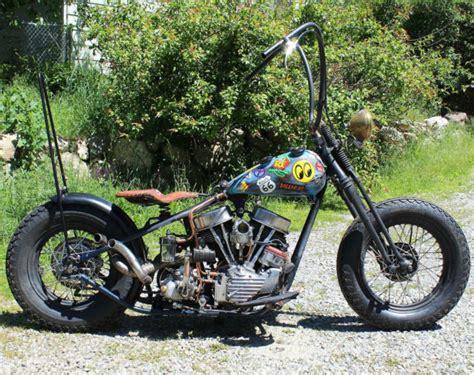 1949 Harley Davidson El Panhead Bobber Chopper Springer