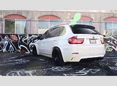 BMW X5M on 22